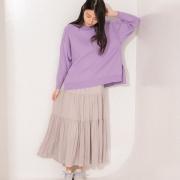 春を呼び込むスカートスタイル①-今っぽさと穿き心地を兼ね備えてRelax気分に-